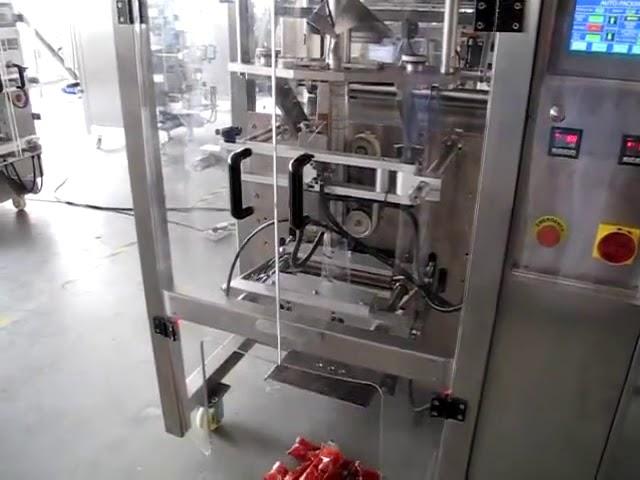 Machine à emballer automatique de sachet de ketchup de pâte de tomate