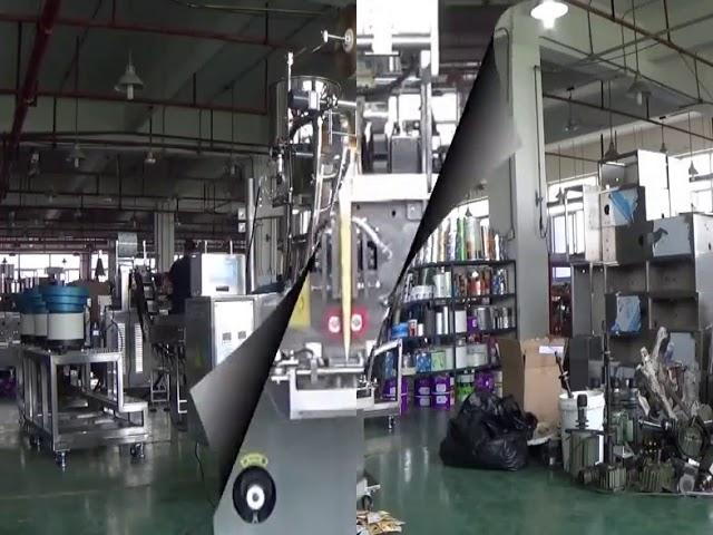 Machine de conditionnement verticale automatique de boule de haricots de riz de sachet