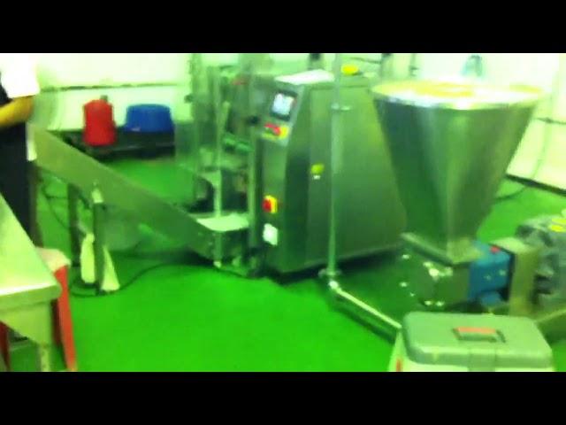 Machine automatique VFFS pour produit de pâte d'emballage