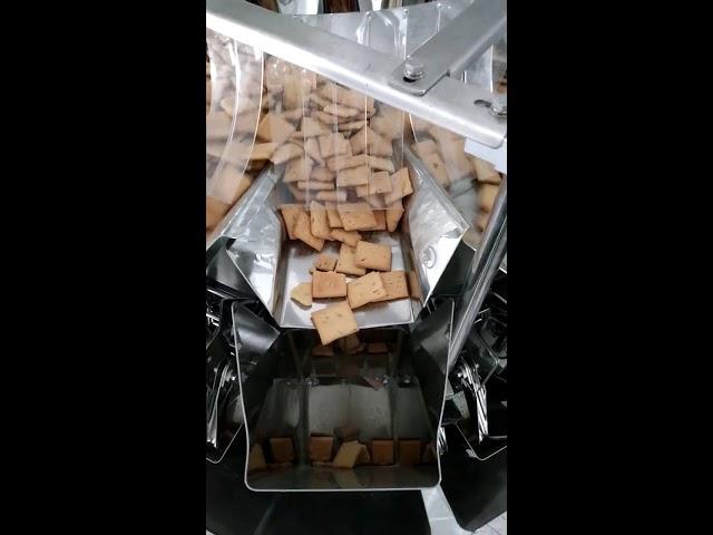 sac vertical de remplissage remplir 14 têtes peseuse et emballage 2 dans 1 machine pour 5KG Pedigree nourriture pour chiots
