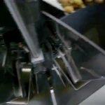 Le meilleur prix pesant automatique vertical frites machine d'emballage de cachetage de frites