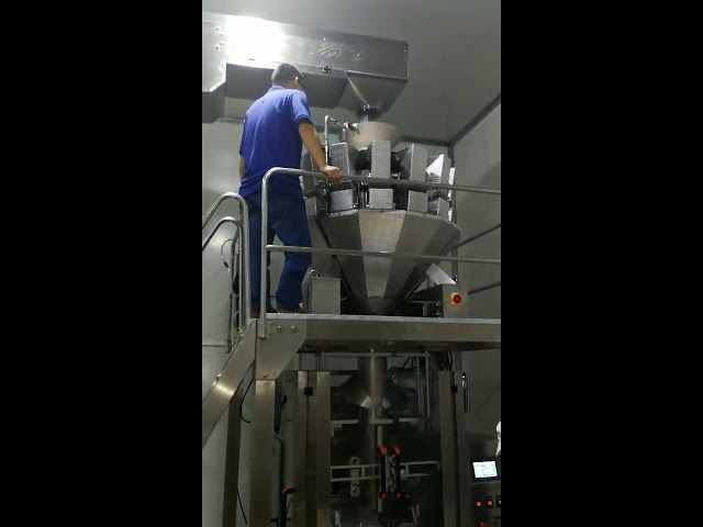 Chine automatique alimentaire collations sucre candi en poudre graines noix poudre verticale machine à emballer