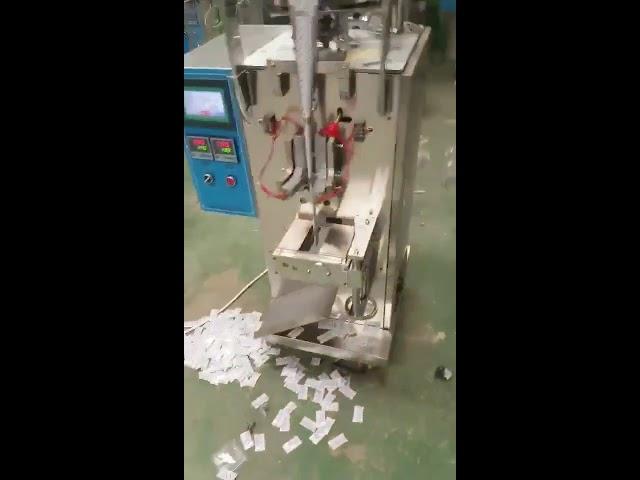 Machine d'emballage verticale de casse-croûte liquide de puces de poche d'oreiller verticale automatique de fournisseur de la Chine