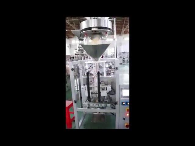 Dosage par le remplisseur volumétrique de tasses de machine à emballer de sucre de riz de lentilles