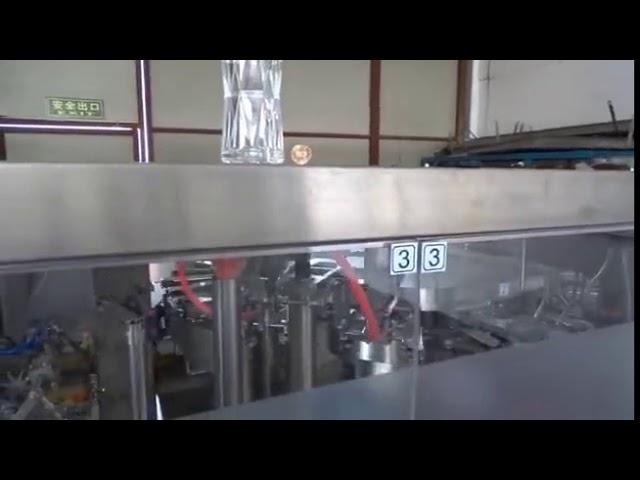 Machine de conditionnement de farine de maïs aseptique de petits sachets en poudre