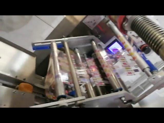 Machine d'emballage horizontale à sachet automatique