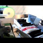 Ligne de conditionnement de boîtes en carton entièrement automatique