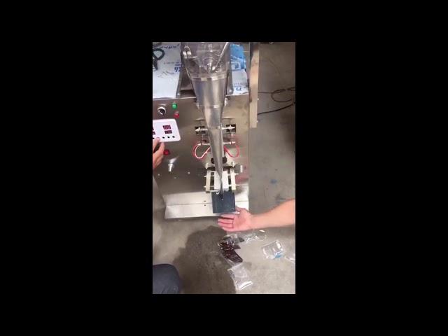 Pâte de ketchup à base d'eau pure à grande vitesse, machine d'emballage pour remplissage de sachets