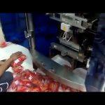 Machine de conditionnement verticale à grande vitesse pour diverses noix de graines de granule de casse-croûte