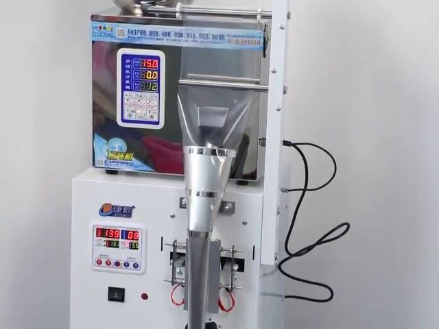 Bonbons de glace vente chaude emballage forme verticale petit sac en plastique de remplissage et de scellage machine