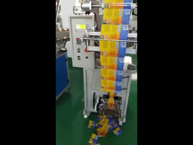 Petite machine à emballer automatique de sachet de rendement élevé automatique pour la poudre d'épices