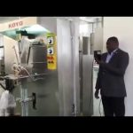 Machine de conditionnement liquide de sachet en plastique de sac en plastique de petite échelle verticale automatique
