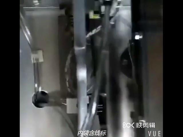 Machine à emballer en nylon de poudre à thé de machine à emballer de sachet à thé de triangle