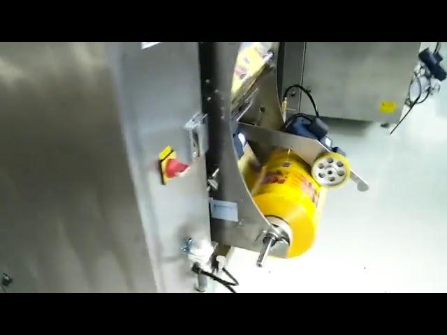 Petite entreprise auto sachet pack sac machine à emballer forme verticale remplissage scellant sachet sachet
