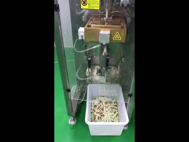 petit sachet vertical 3g 5g machine à emballer de poudre de café automatique