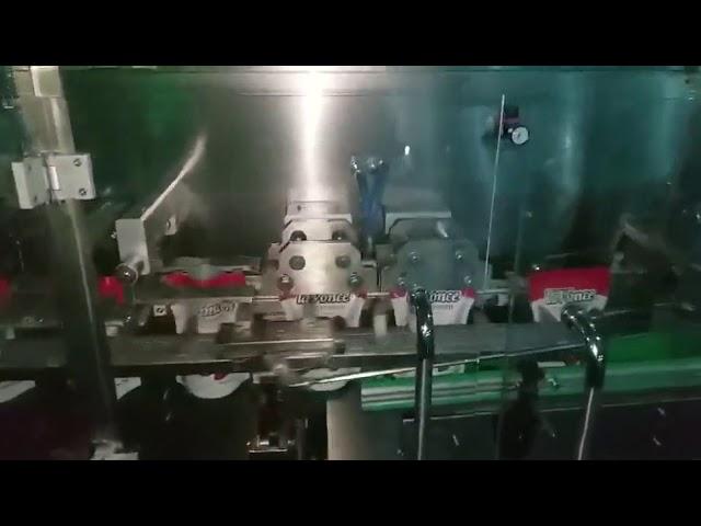 Prix de machine à emballer liquide de ketchup de sachet de pâte de tomate